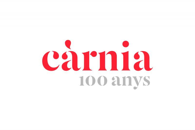 Logo Carnia 100 anys